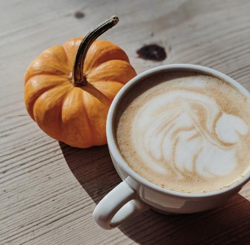 "Pumpkin Spice ""Latte"""