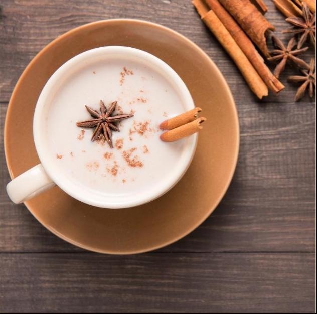 Cinnamon Vanilla Milk Tea